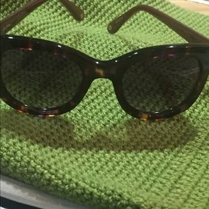 "ANTHROPOLOGIE ""ETT:TWA"" Tortoise Look Sunglasses"